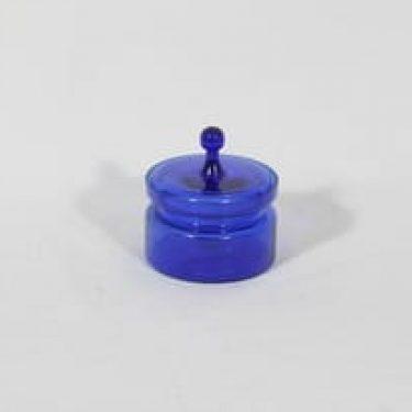 Kumela 450-II=2700 purnukka, koboltinsininen, suunnittelija Sirkku Kumela-Lehtonen,