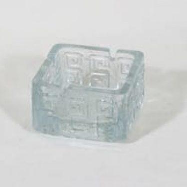 Riihimäen lasi Taalari tuhka-astia, kirkas, suunnittelija Tamara Aladin,