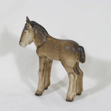 Arabia figuuri, käsinmaalattu, suunnittelija Lea von Mickwitz, käsinmaalattu, suuri, varsa-aihe
