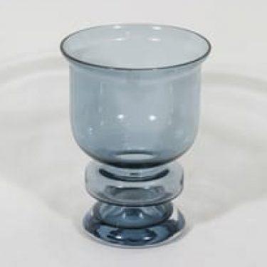Riihimäen lasi Ella maljakko, siniharmaa, suunnittelija Nanny Still,