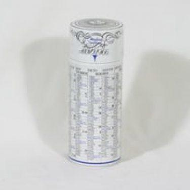 Arabia purnukka, Medica 1911 ANNO 1966, suunnittelija , Medica 1911 ANNO 1966, kalenteriaihe, serikuva, tilattu koriste