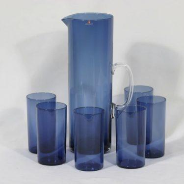 Iittala 1-114 kaadin ja lasit, 30 cl, 6 kpl, suunnittelija Timo Sarpaneva, 30 cl