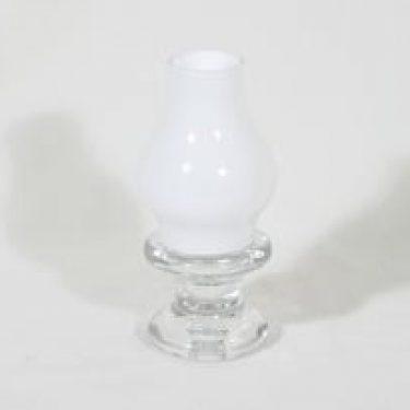 Iittala Pentteri kynttilälyhty, valkoinen, suunnittelija Timo Sarpaneva, pieni
