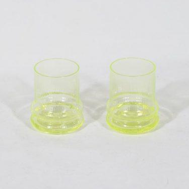 Riihimäen lasi Sulttaani lasit, 8 cl, 2 kpl, suunnittelija Nanny Still, 8 cl, pieni
