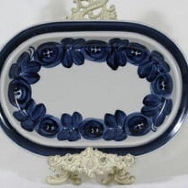 Arabia Anemone vati, käsinmaalattu, suunnittelija Ulla Procope, käsinmaalattu, soikea, signeerattu