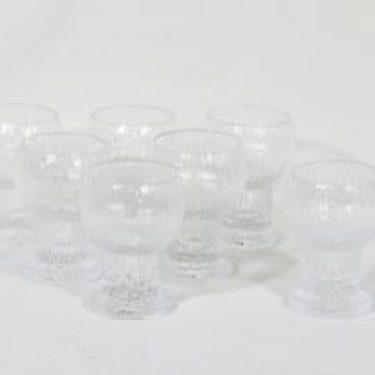 Iittala Kekkerit lasit, 30 cl, 7 kpl, suunnittelija Timo Sarpaneva, 30 cl