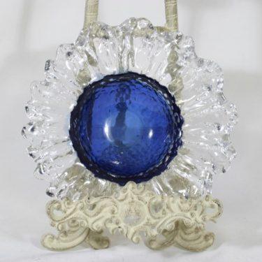 Humppila Kasvimaalla malja, sininen-kirkas, suunnittelija Pertti Santalahti, pieni
