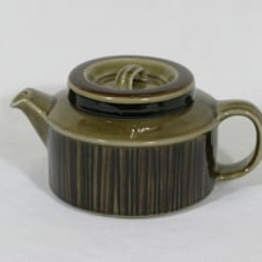 Arabia Kosmos teekannu, 1.35 l, suunnittelija Gunvor Olin-Grönqvist, 1.35 l, puhalluskoriste