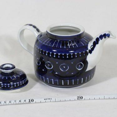 Arabia ND 2 teekaadin, käsinmaalattu, suunnittelija Ulla Procope, käsinmaalattu, signeerattu kuva 2