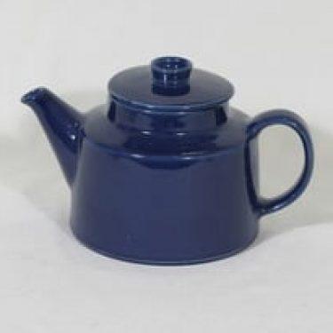 Arabia Kilta teekannu, sininen, suunnittelija Kaj Franck,