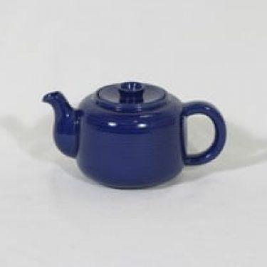 Arabia MS teekannu, pieni, suunnittelija Michael Schilkin, pieni, koristelematon