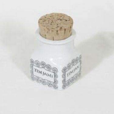 Arabia EK maustepurkki, timjami, suunnittelija , timjami, serikuva, tekstikuvio
