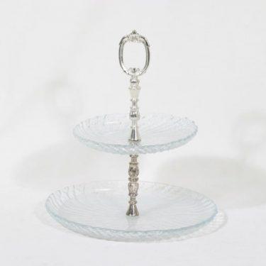 Riihimäen lasi Kehrä kerrosvati, kirkas, suunnittelija Nanny Still,