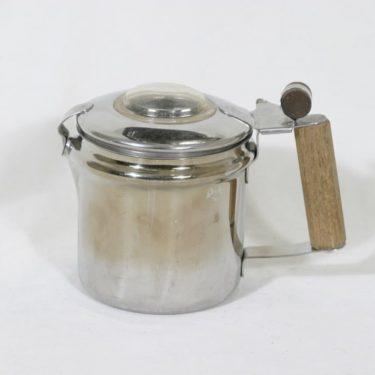 El-rod Maija pulputuskahvinkeitin, 0,75 l, suunnittelija , 0,75 l, pieni, kromattu