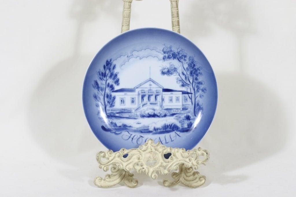 Arabia decorative plate, signed, designer Svea Granlund
