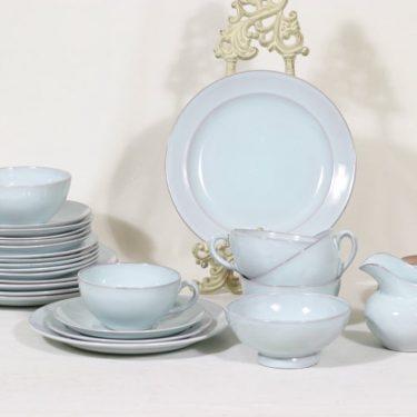 Arabia S teeastiasto, kuudelle, suunnittelija , kuudelle, koristelematon