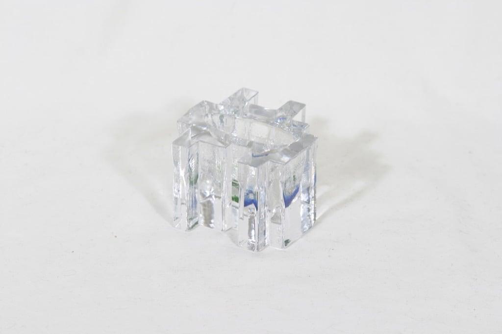 Riihimäen lasi Forest taidelasi, monivärinen, suunnittelija Helena Tynell, pieni