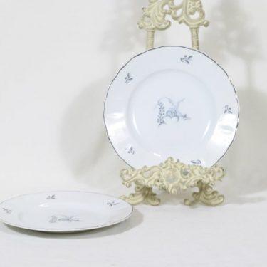 Arabia Mökki lautaset, matala, 2 kpl, suunnittelija , matala, pieni