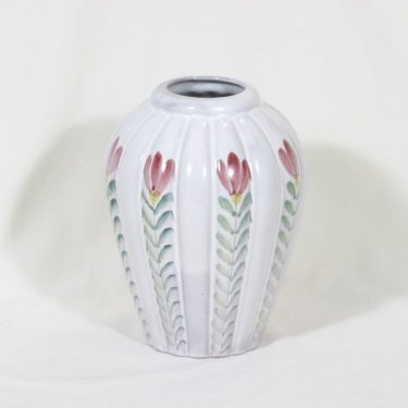 Arabia ARA vase, hand-painted, signed