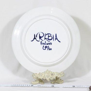 Arabia Valencia vati, käsinmaalattu, suunnittelija Ulla Procope, käsinmaalattu, suuri, signeerattu kuva 2