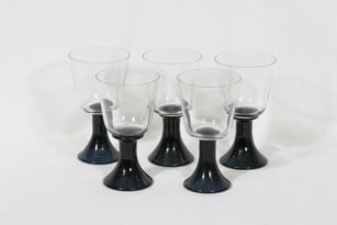 Riihimäen lasi Servus lasit, 24 cl, 5 kpl, suunnittelija Helena Tynell, 24 cl