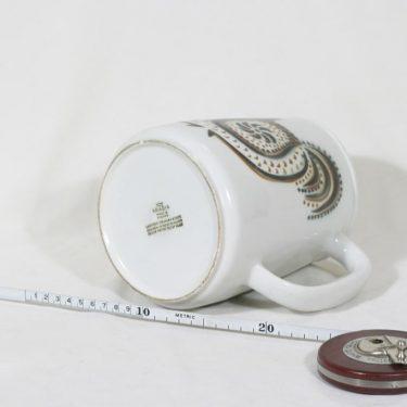 Arabia Lintu kaadin, 2 l, suunnittelija Birger Kaipiainen, 2 l, suuri, puhalluskoriste kuva 3