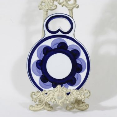 Arabia Paju household plate, hand-painted, designer Anja Jaatinen-Winqvist, signed, retro