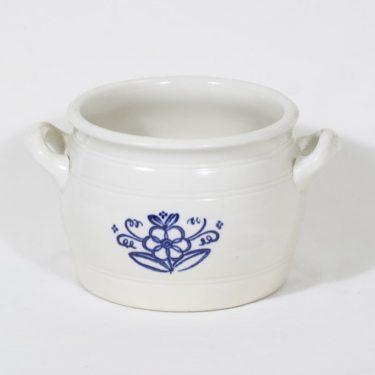 Arabia B 3 pot, flower decoration, cobalt decoraton, 2.6 l