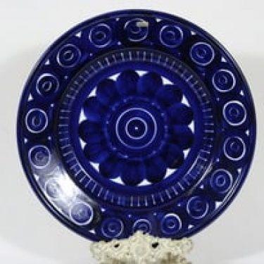 Arabia Valencia vati, käsinmaalattu, suunnittelija Ulla Procope, käsinmaalattu, suuri, syvä, signeerattu