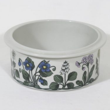 Arabia Flora bowl, designer Esteri Tomula, silk screening