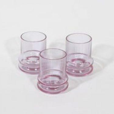 Riihimäen lasi Sulttaani lasit, 8cl, 3 kpl, suunnittelija Nanny Still, 8cl, pieni