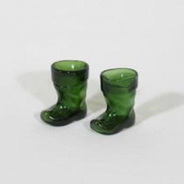Kumela Lapikas koriste-esineet, vihreä, 2 kpl, suunnittelija , pieni