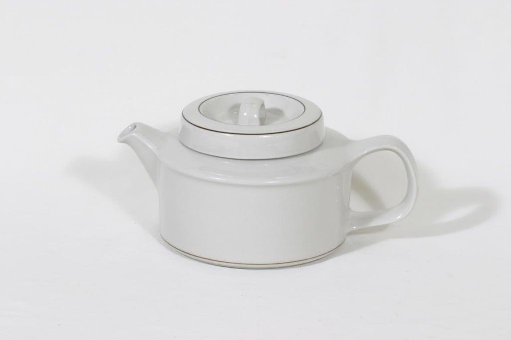 Arabia Fennica teekaadin, valkoinen, suunnittelija Richard Lindht,