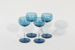 Riihimäen lasi Harlekiini väkeväviinilasit, 10 cl, 4 kpl, suunnittelija Nanny Still, 10 cl