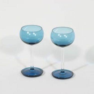 Riihimäen lasi Harlekiini väkeväviinilasit, 10 cl, 2 kpl, suunnittelija Nanny Still, 10 cl