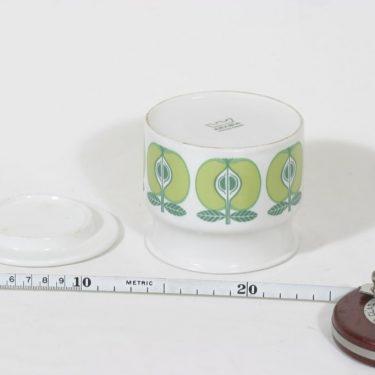 Arabia Pomona purnukka, omena, suunnittelija Raija Uosikkinen, omena, serikuva, retro kuva 2