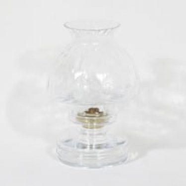 Riihimäen lasi Apollo kynttilälyhty, kirkas, suunnittelija Nanny Still, rihlakoriste