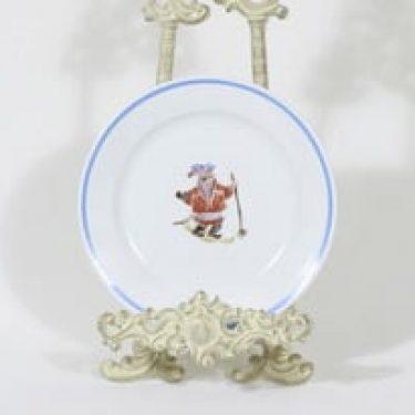 Arabia Lappi lasten lautanen, suunnittelija Kaj Franck, serikuva