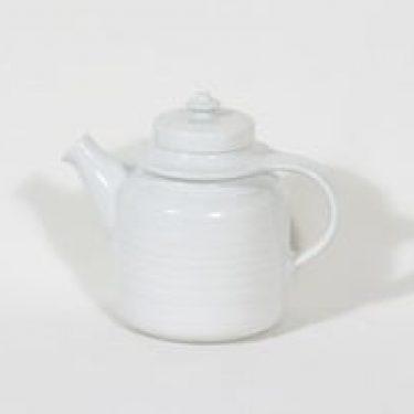Arabia DG 3 teekaadin, valkoinen, suunnittelija , koristelematon