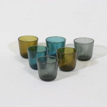 Nuutajärvi lasit, 8 cl, 6 kpl, suunnittelija , 8 cl, pieni
