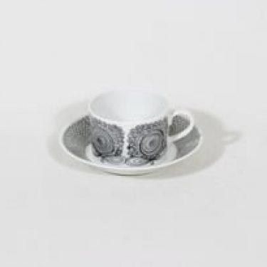Arabia Calypso kahvikuppi, suunnittelija Esteri Tomula, serikuva