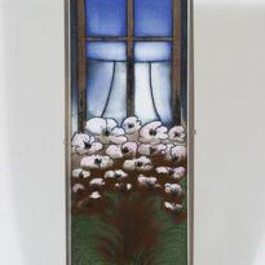 Arabia koristelautanen, Lapsuuden ilo, suunnittelija Heljä Liukko-Sundström, Lapsuuden ilo, suuri, signeerattu