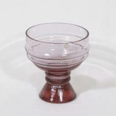 Riihimäen lasi Sulttaani maljakko, ametisti, suunnittelija Nanny Still,