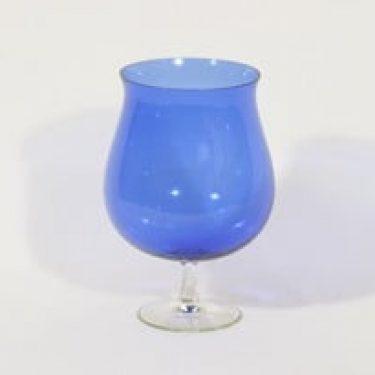 Kumela 205 boolimalja, sininen, suunnittelija Sirkku Kumela-Lehtonen, suuri