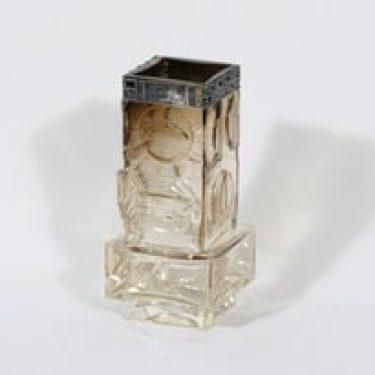 Kumela 1012/S maljakko, signeerattu, suunnittelija Pentti Sarpaneva, signeerattu, hopeapanta