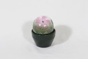 Arabia Ikikukka koriste-esine, vaaleanpunainen, suunnittelija Heljä Liukko-Sundström,