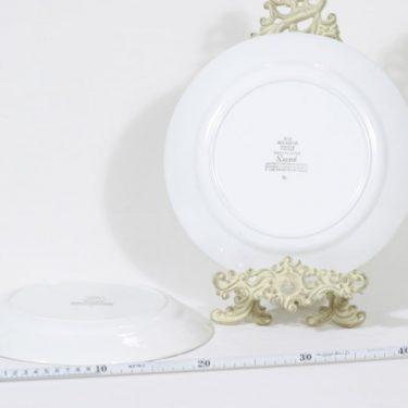 Arabia Suvi lautaset, käsinmaalattu, 2 kpl, suunnittelija Raija Uosikkinen, käsinmaalattu kuva 2