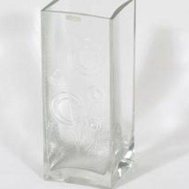 Riihimäen lasi Lucullus maljakko, signeerattu, suunnittelija Nanny Still, signeerattu