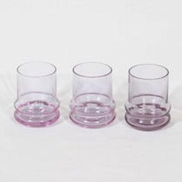 Riihimäen lasi Sulttaani lasit, 12 cl, 3 kpl, suunnittelija Nanny Still, 12 cl