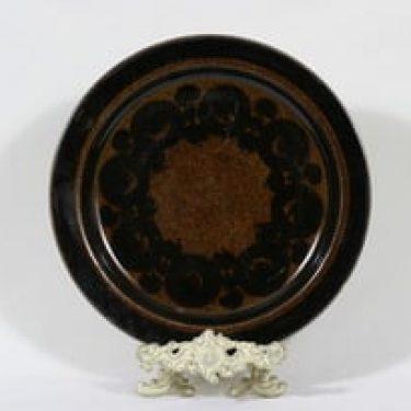 Arabia Soraya vati, käsinmaalattu, suunnittelija Gunvor Olin-Grönqvist, käsinmaalattu, retro